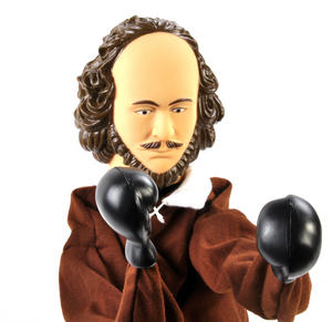 Shakespeare Punching Puppet Thumbnail 2
