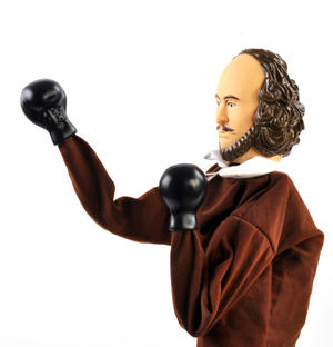Shakespeare Punching Puppet Thumbnail 4