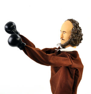 Shakespeare Punching Puppet Thumbnail 7