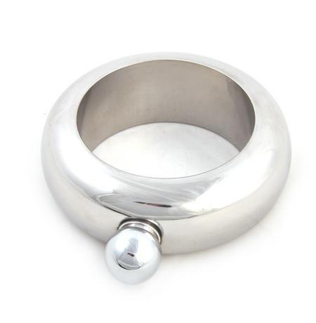 Party Bangle - Secret Hip Flask - Silver
