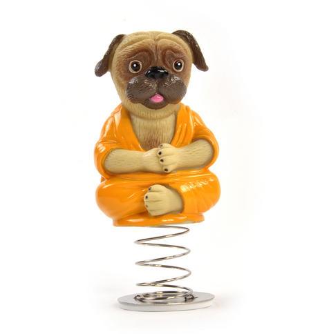 Dashboard Buddha Pug