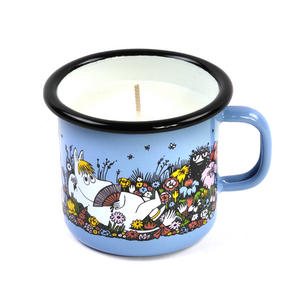 Shared Moment - Moomin Candle in 25 cl Enamel Cup Thumbnail 1