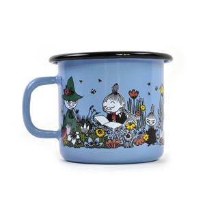 Shared Moment - Moomin Candle in 25 cl Enamel Cup Thumbnail 2