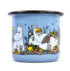 Shared Moment - Moomin Candle in 25 cl Enamel Cup Thumbnail 3