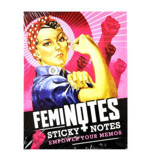Feminotes Sticky Notes - Women Power Memos Thumbnail 1