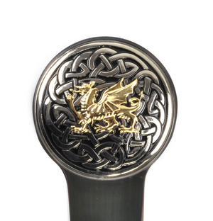 Welsh Dragon and Celtic Knot Hand Letter Opener Thumbnail 6