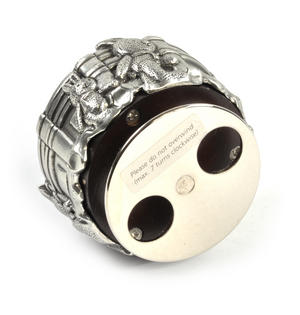 Bunnies Piccadilly Circus Music Carousel - Pewter Musical Box by Royal Selangor Thumbnail 8