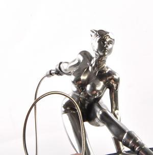 Catwoman DC Comics Figurine - Sculpture by Royal Selangor Thumbnail 7