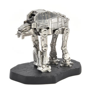 Star Wars AT-M6 Vehicle Sculpture by Royal Selangor Thumbnail 1