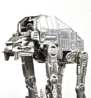 Star Wars AT-M6 Vehicle Sculpture by Royal Selangor Thumbnail 4