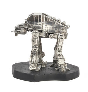 Star Wars AT-M6 Vehicle Sculpture by Royal Selangor Thumbnail 8