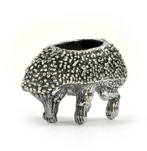 Hedgehog Pin Cushion in Solid Pewter Thumbnail 4