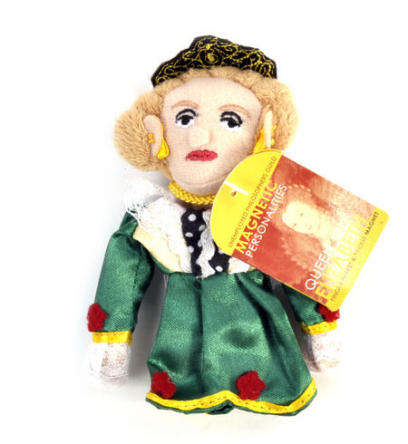 Queen Elizabeth Finger Puppet & Fridge Magnet