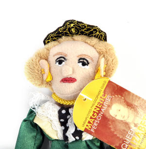 Queen Elizabeth Finger Puppet & Fridge Magnet Thumbnail 2