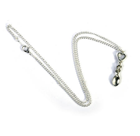Heart Lovespoon Necklace - Everlasting Welsh Love Spoon Forged in Pewter