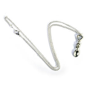 Heart Lovespoon Necklace - Everlasting Welsh Love Spoon Forged in Pewter Thumbnail 1