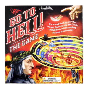 Got To Hell Board Game - Race to Get Dante into the Inferno
