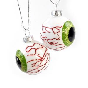 Eyeball Ornament - A Pair of Eyeballs Set Thumbnail 1