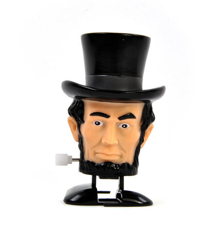 Clockwork Abraham Lincoln Walking Head