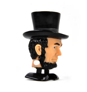 Clockwork Abraham Lincoln Walking Head Thumbnail 2