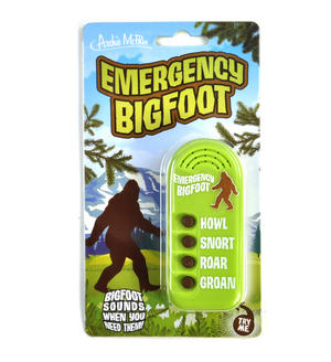 Emergency Bigfoot Sound Machine