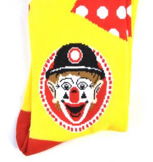 J.P. Patches Patches Pal Clown Socks - Soft Combed Cotton Socks - Men's Dress Socks Thumbnail 2