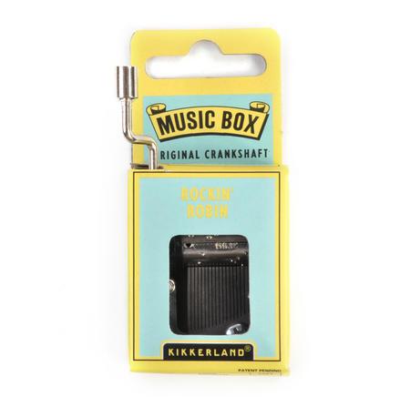 Rockin Robin Handcrank Music Box