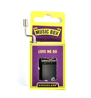 Love Me Do  - The Beatles Handcrank Music Box Thumbnail 1