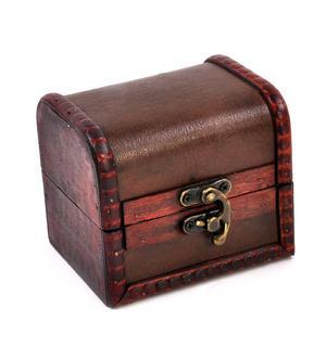 Shamrock Treasure Chest Pocket Watch and Cufflinks Gift Set Thumbnail 7