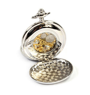 Celtic Circle Treasure Chest Pocket Watch and Cufflinks Gift Set Thumbnail 5