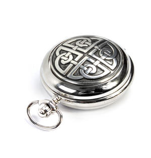 Celtic Circle Treasure Chest Pocket Watch and Cufflinks Gift Set Thumbnail 3
