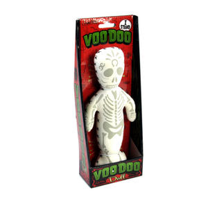 Glow in the Dark Illuminous Standing Voodoo Doll Thumbnail 1