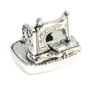 Sewing Station Pin Cushion in Solid Pewter Thumbnail 3
