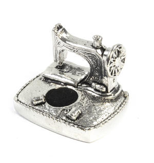 Sewing Station Pin Cushion in Solid Pewter Thumbnail 5