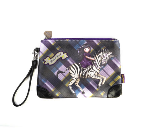 The Dark Streak - Unicorn Gorjuss Zippered Accessory Pouch