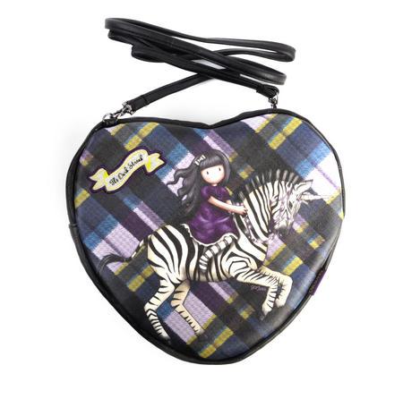 The Dark Streak - Unicorn Gorjuss Heart Shaped Shoulder Bag