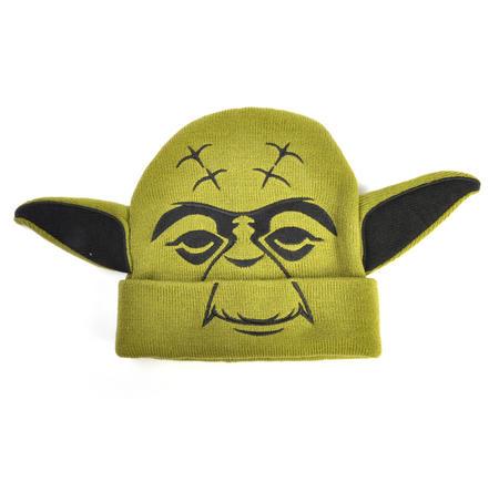 Yoda Star Wars Beanie Ear Muff Woolly Hat