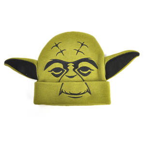 Yoda Star Wars Beanie Ear Muff Woolly Hat