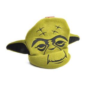 Yoda Star Wars Beanie Ear Muff Woolly Hat Thumbnail 2
