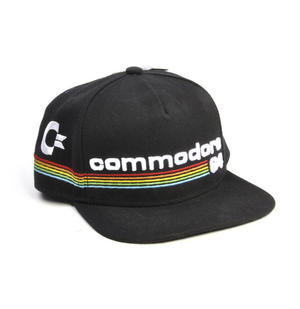 Commodore 64 Snap Back Cap - Retro Computer Geek Perfection