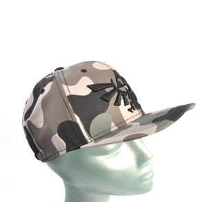 Legend of Zelda Wing Crest Logo Camo Snap Back Cap Thumbnail 2