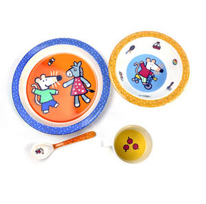 Maisy Mouse 4pc Breakfast Set - Mimi, Maisy , Mausi