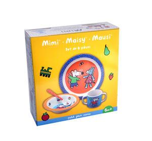 Maisy Mouse 4pc Breakfast Set - Mimi, Maisy , Mausi Thumbnail 2