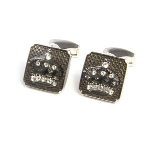 Cufflinks - Luxury Jewelled Crowns Thumbnail 4