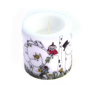 Happy Family - 8cm Moomins Candle Thumbnail 3