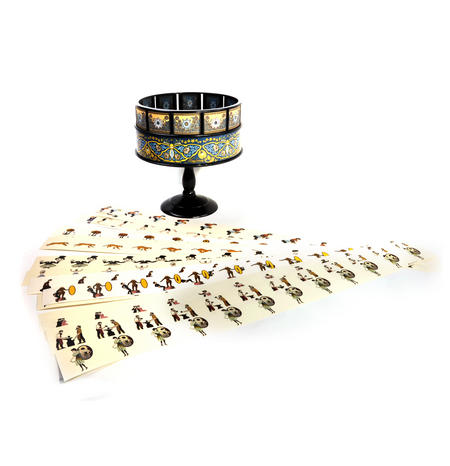 Zoetrope - Hemispherium Replica Antique Motion Pictures Viewer