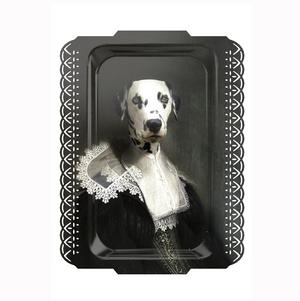 Sapho - Galerie De Portraits - Surreal Wall Tray Art Masterwork by iBride