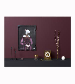 Olympe - Galerie De Portraits - Surreal Wall Tray Art Masterwork by iBride Thumbnail 2