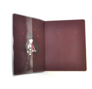 The Collector Glitter Lined Notebook Journal by Gorjuss with Protective PVC Cover Thumbnail 2
