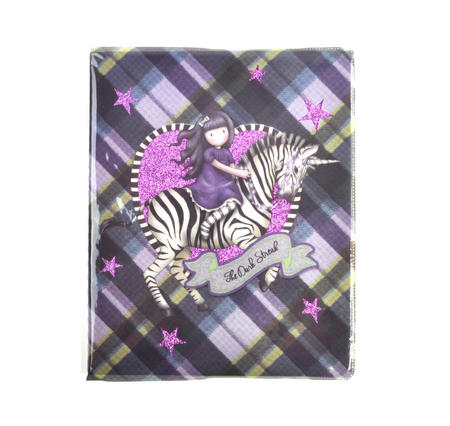 The Dark Streak - Unicorn Glitter Lined Notebook Journal by Gorjuss with Protective PVC Cover